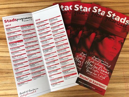 Vlaardingen, The Netherlands: Heb je onze flyer/brochure al gezien?