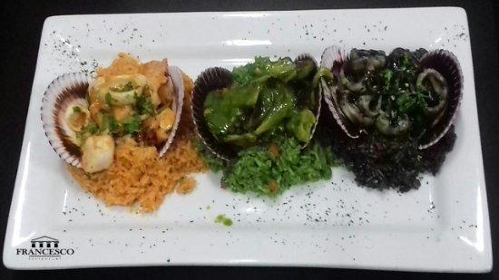 Lima, Peru: Disfruta de nuestro tres tipos de arroz con mariscos. No te lo puedes perder.
