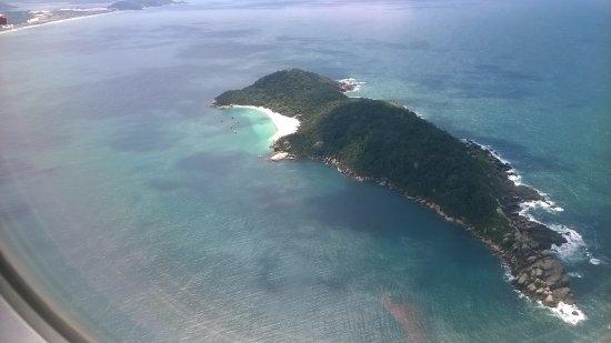 Campeche island: Vista aérea