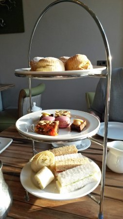 Chippenham, UK: Afternoon tea selection as served