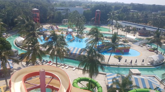 Splash Water Park : View from the top