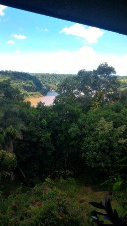 Iguazú River view from room (Vista del Rio Iguazú)