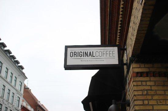 Sign - Picture of Original Coffee Bredgade, Copenhagen - TripAdvisor