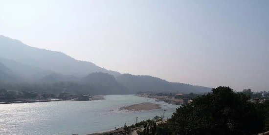 Hotel Great Ganga: View from the restaurant