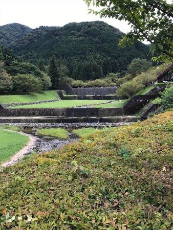 Kaizu, Japan: 羽根谷の堤
