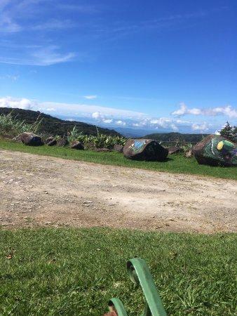 Cerro Plano, Costa Rica: in the garden