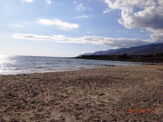 Frangokastello, Yunani: Der Strand