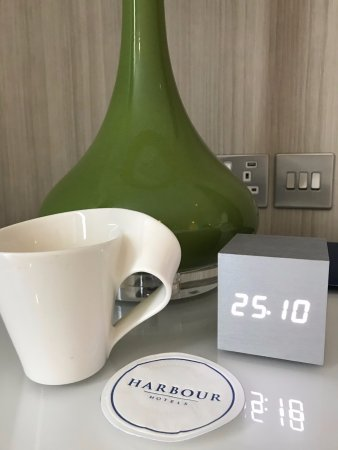 Loved the mugs and the clock