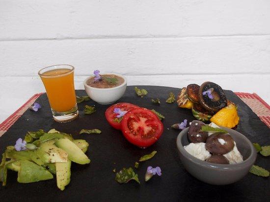 Port Edward, Republika Południowej Afryki: Vegan feast