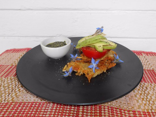 Port Edward, Republika Południowej Afryki: Vegan breakfast at the Samango lounge