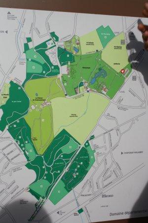 Chatenay-Malabry, Frankrike: Le Plan du Parc