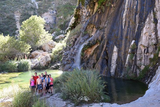 Sitting Bull Falls: Gorgeous scenery and a great place to cool off!