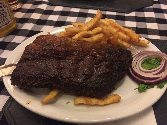 Rio Vista, Kalifornia: BBQ ribs half rack