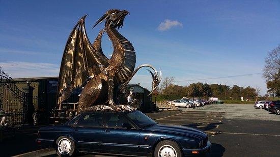 Oswestry, UK: car