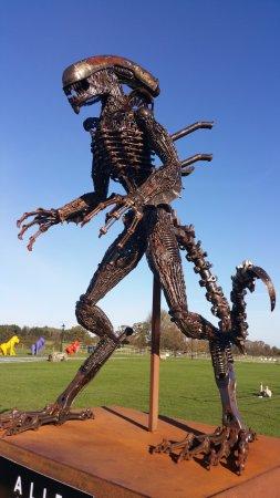 Oswestry, UK: alien