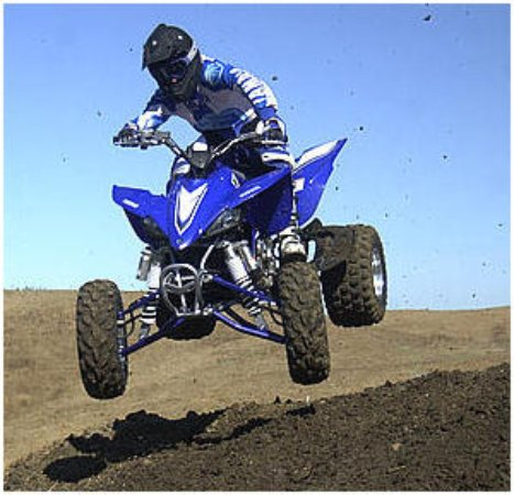 the yamaha yfz450 is the winningest sport atv can be rented at