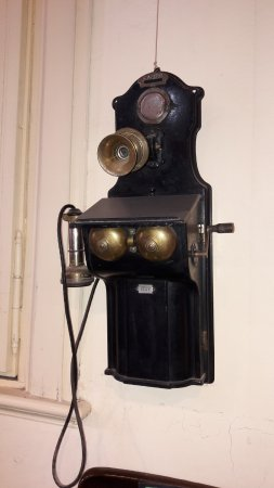 Museo Ferroviario de Campana Victor Luis Capusso: Teléfono