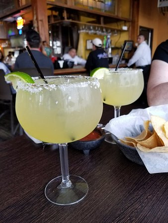 Mariasol Cocina Mexicana: This was the medium size margarita