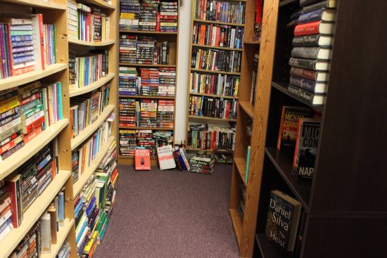 Grand Blanc, MI: We have 12 rooms of books -- come get lost in a book!
