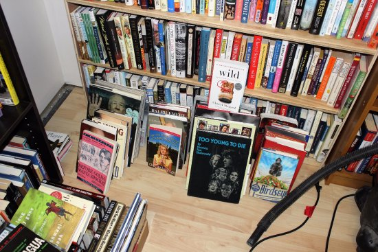 Grand Blanc, MI: Our biography room has lots to choose from