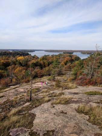 Muskoka Lakes, Canada: the view from the lookout