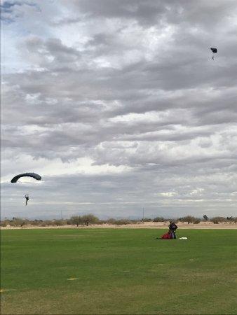 Eloy, AZ: Landing