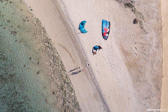 Uoleva Island, ตองกา: Kitesurfing Uoleva