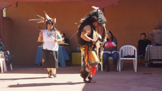 Espanola, NM: Buffalo dance