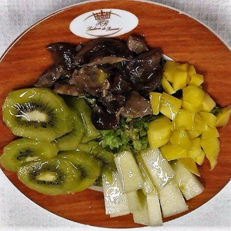 Hotel Rural Sra de Pereiras: Salada de Cogumelos!