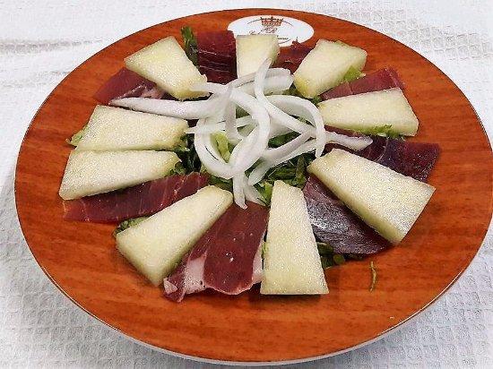 Hotel Rural Sra de Pereiras: Salada de Melão!