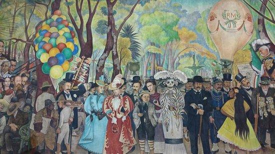 Museo mural diego rivera ciudad de m xico lo que se for Diego rivera famous mural