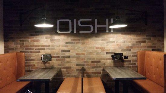 Oishi Restaurant: locale