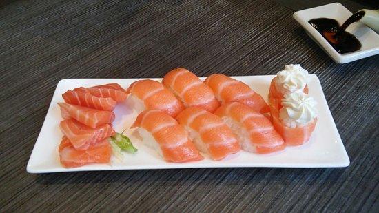 Oishi Restaurant: tris di salmone