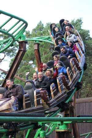 Landmark Forest Adventure Park: Runaway Timber Train