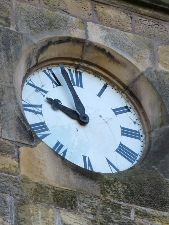 Freuchie, UK: clock