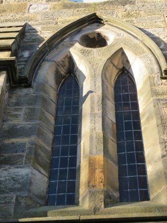 Freuchie, UK: arched windows