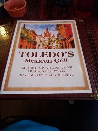 Mustang, OK: Toledo's Mexican Grill