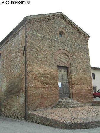 Монтерони-д'Арбия, Италия: Chiesa dei Santi Giacomo e Cristoforo a Cuna