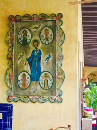 Hacienda De Los Santos: Wonderful, antique religious art abounds.