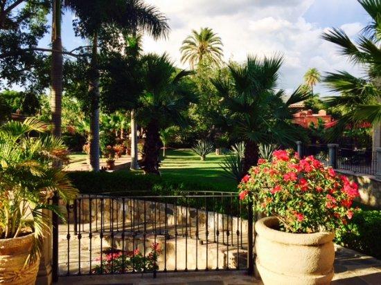 Hacienda De Los Santos: Sunny in Alamos 320 days of year.