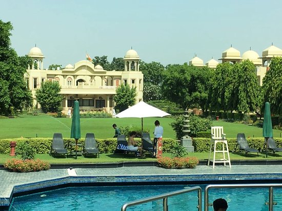 Manesar, India: Havelli - Private area of the hotel
