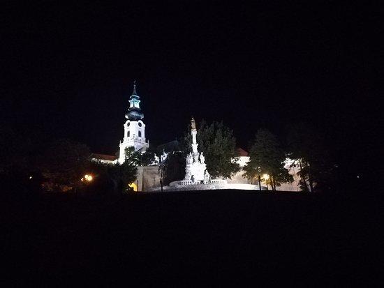 Nitra, Slovensko: Krásna noc pod hradom