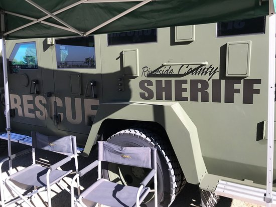 Norco, CA: Riverside County Sheriffs Vehicle Display