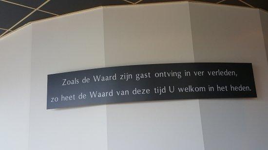 Beusichem, Nederland: Een mooie spreuk in 't VeerHuys