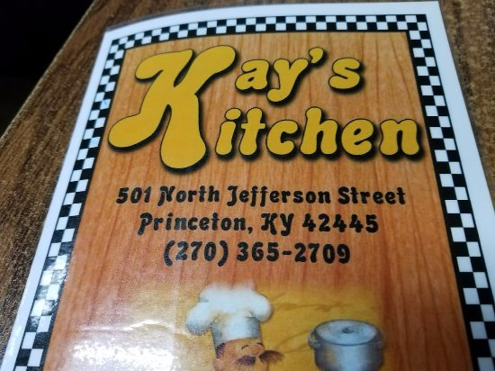 Menu Picture Of Kay S Kitchen Princeton Tripadvisor