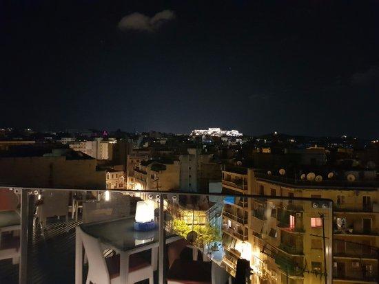 Novotel Athenes: Acrópole ao fundo