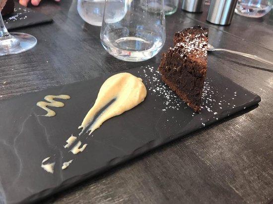 La Mandoline: Dessert du jour : gâteau au chocolat