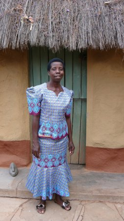 Zimbabwe: Stella Gutura, preschool teacher who lives by the guesthouse