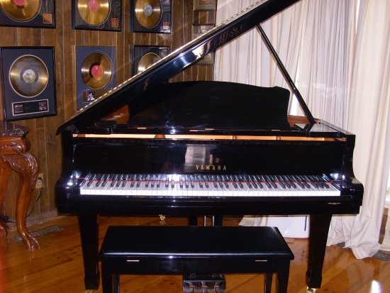 Nesbit, MS: The piano used by Jerry Lee Lewis when at home.