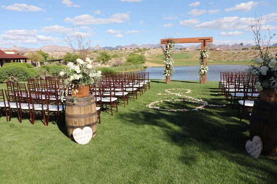 Bullhead City, AZ: Weddings at Laughlin Ranch and SLATE